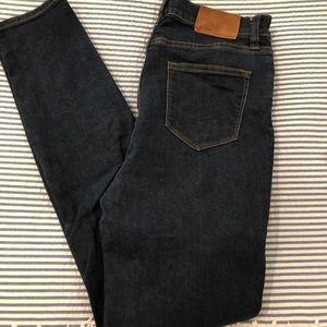 Jcrew Lookout High Rise Skinny Jean 27